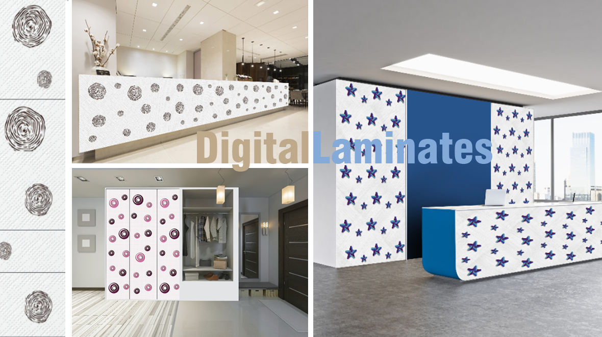 awesome wall display ideas using ADVANCE Digital Laminates