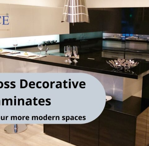 The benefits of working with Advance High Gloss Decorative Laminates