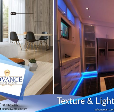 Effective lighting & Textured Surfacing Ideas for perfect home interiors