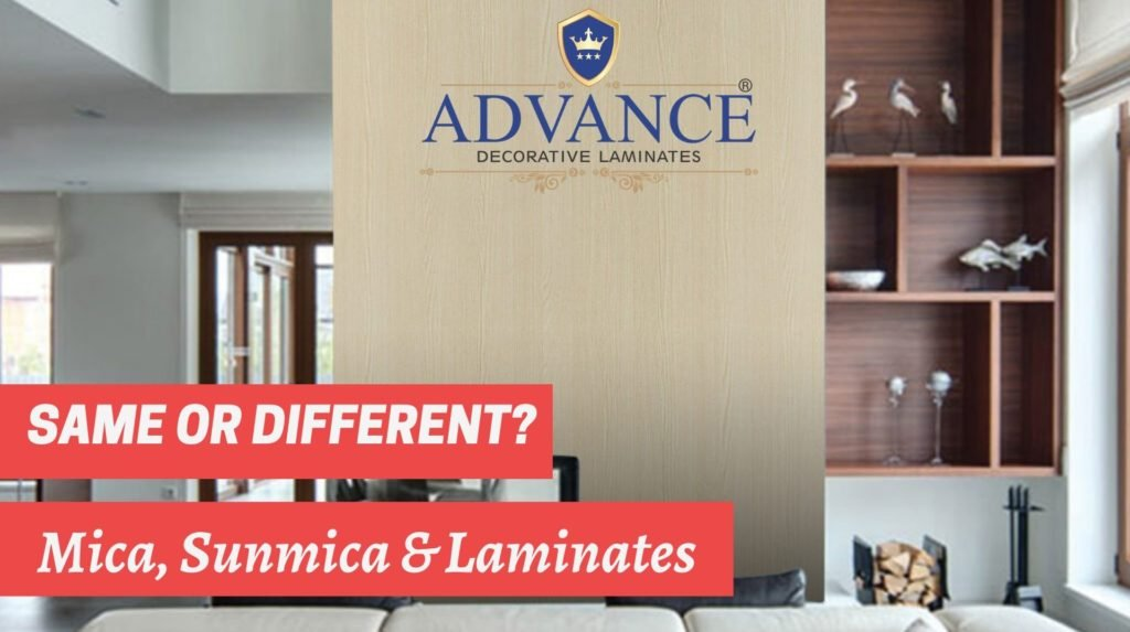 Are Mica, Sunmica and Laminates same or different? Everything you need to know