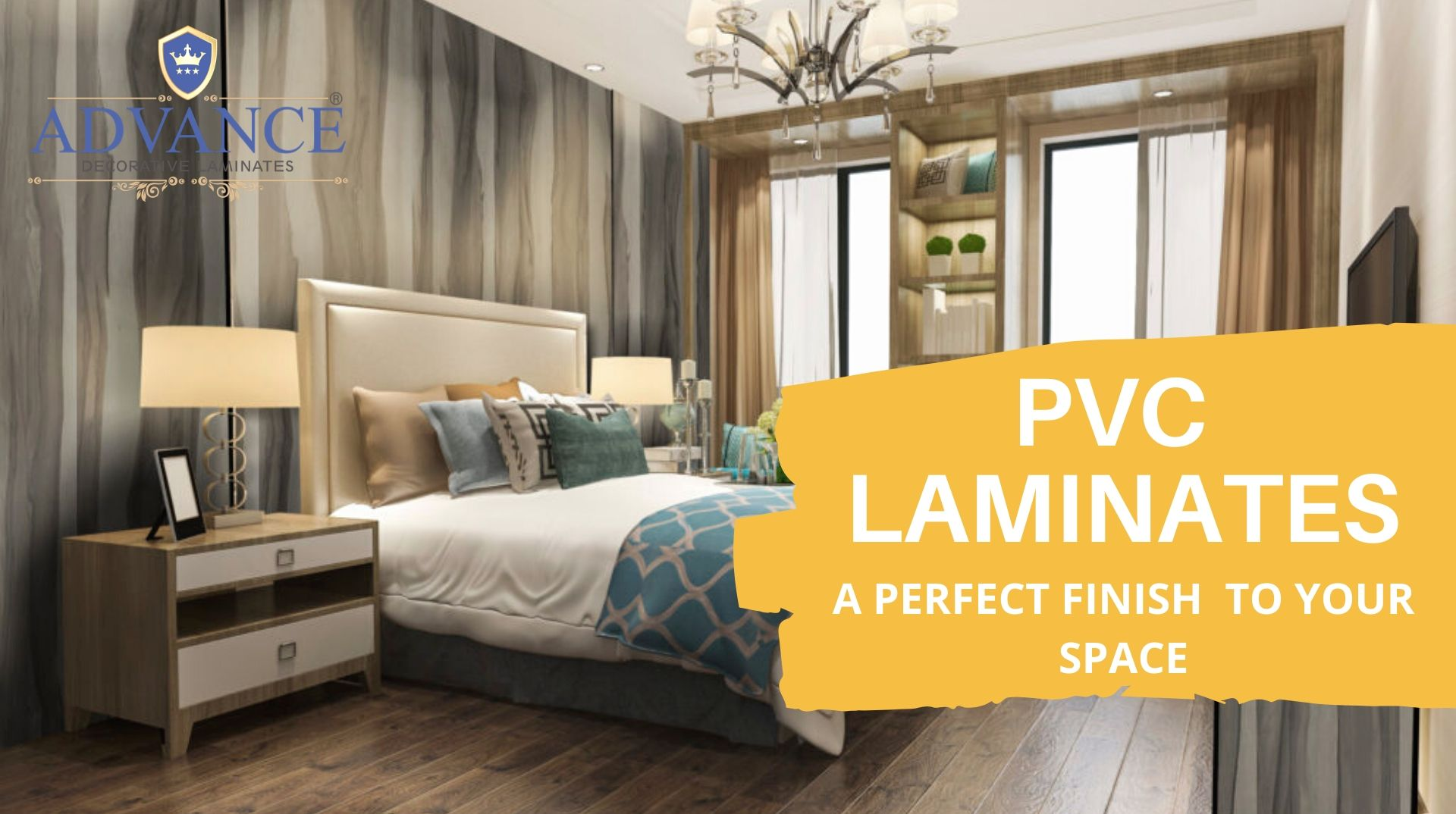 best places to use pvc laminates