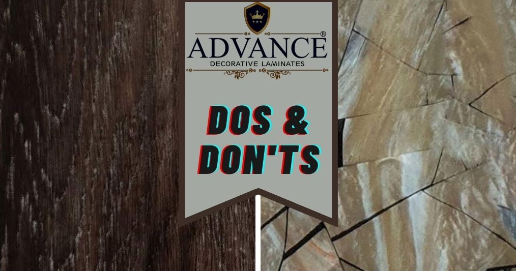 What are the Dos and Don'ts in PVC Laminate Installation?