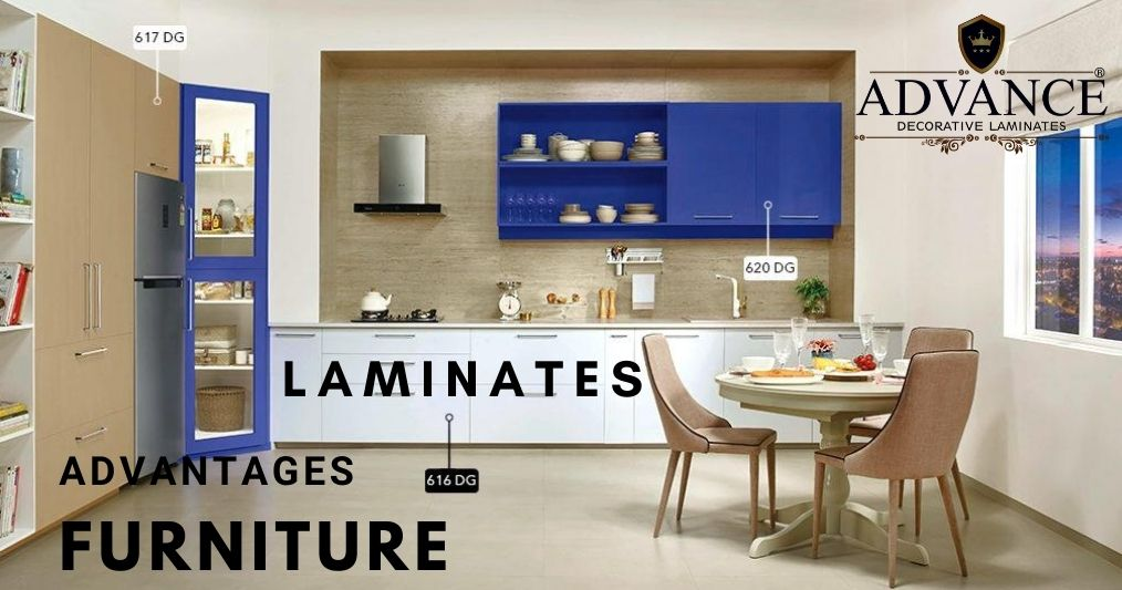 4 Advantages of Using Laminate Sheets on Furniture