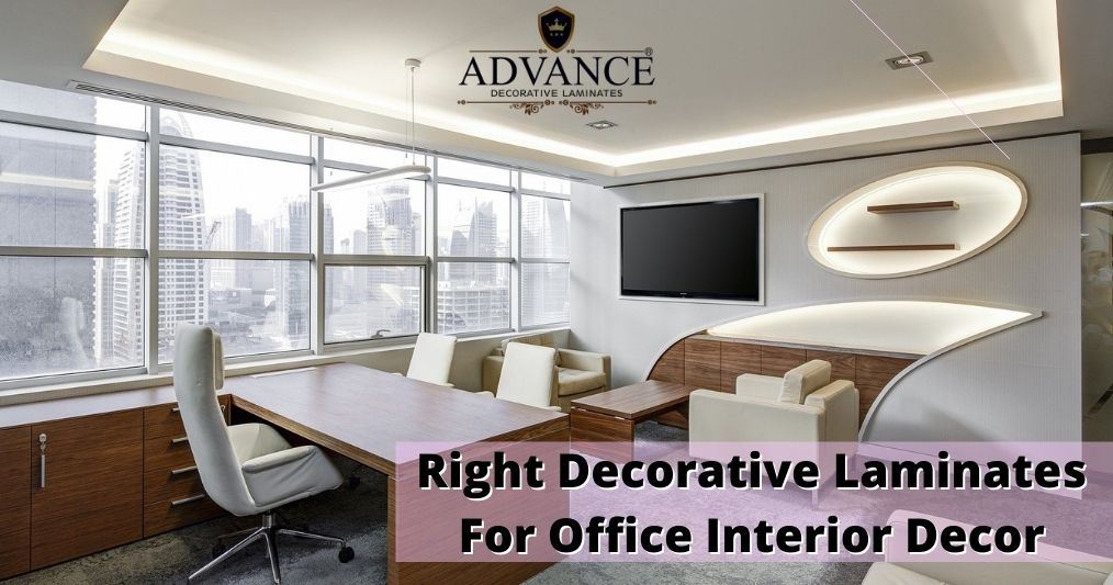 How to choose the right Decorative Laminate style, colour, texture and finish for Office Interior Decor