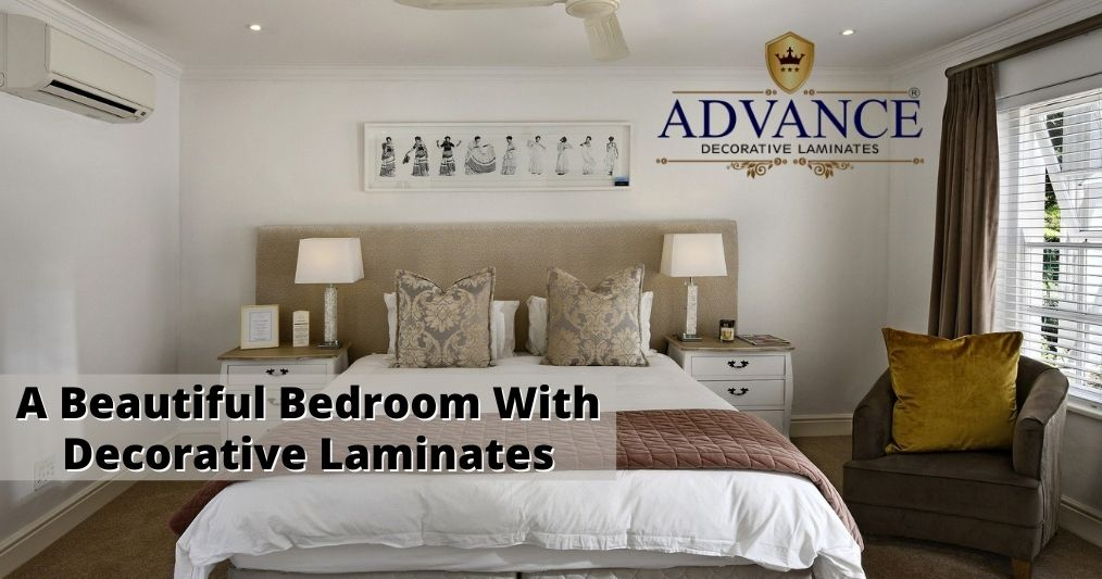 Key Tips to decorate a beautiful bedroom with Decorative Laminates