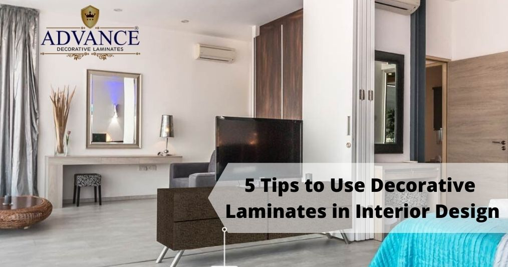 Top 5 Tips to Use Decorative Laminates in Interior Design