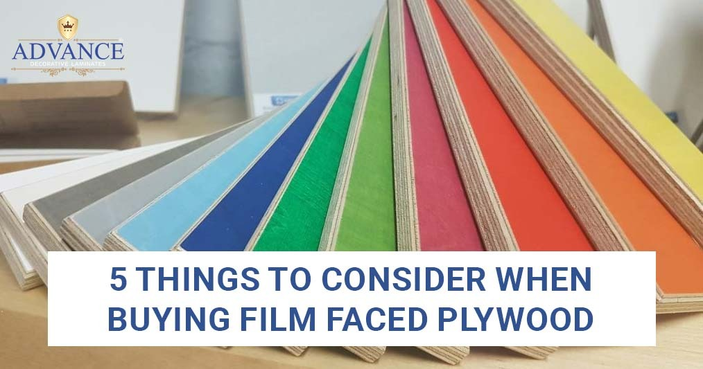 5 Things to Consider When Buying Film Faced Plywood