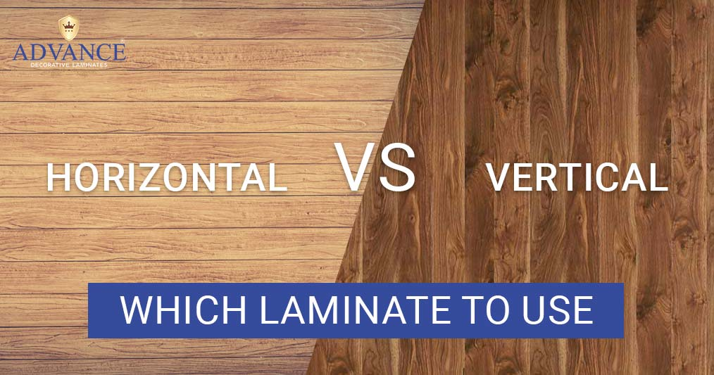 Horizontal or Vertical- Which laminate to use and why